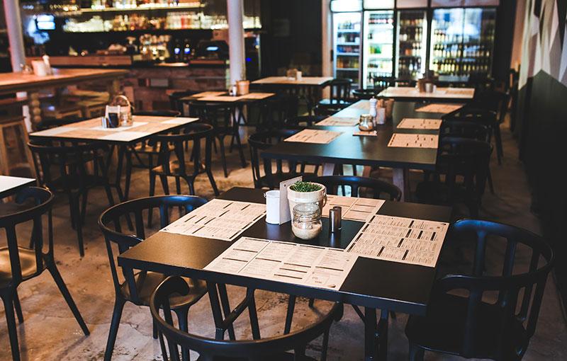 Indicadores en los restaurantes